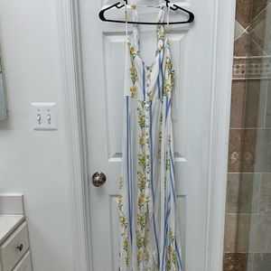 NWT Low back maxi dress